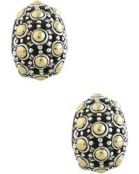 John Hardy - Jaisalmer 18k Gold & Sterling Silver Buddha Belly Earrings - Lyst