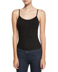 Neiman Marcus - Soft-touch Cami Bodysuit - Lyst