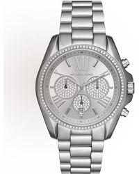 11c2c7a9b370 MICHAEL Michael Kors - 43mm Bradshaw Chronograph Bracelet Watch - Lyst