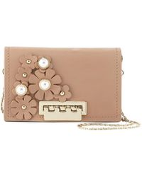 Zac Zac Posen - Earthette Leather Card Case W/strap - Lyst