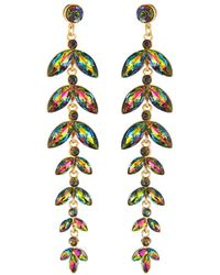 Romeo and Juliet Couture - Graduating Crystal Drop Earrings - Lyst