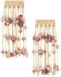 Lydell NYC | East-west Chain Tassel Earrings | Lyst