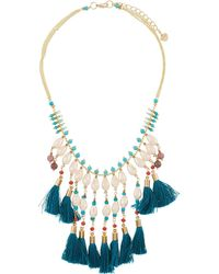 Nakamol - Multi-tassel Pearly Statement Necklace - Lyst