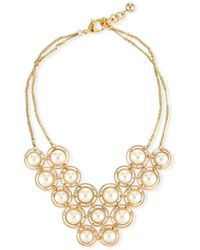 Lulu Frost On Air Statement Necklace - Metallic