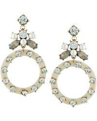 Fragments Pink Shell Statement Earrings 1iihTgr