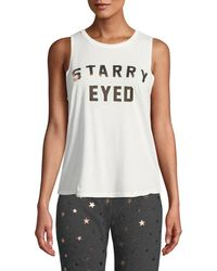 10937bdad78361 Spiritual Gangster - Starry Eyed Graphic Muscle Tank - Lyst