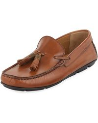 Kenneth Cole - Leather Tassel Moc Driver - Lyst