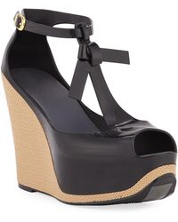 c6cc68a45a2 Melissa - Peace Pvc Platform Wedge Sandals - Lyst