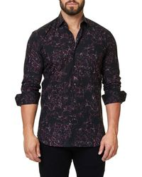 Maceoo - Shaped-fit Luxor Shuttered Sport Shirt - Lyst