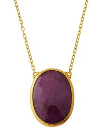 Gurhan - 24k One-of-a-kind Ruby Pendant Necklace - Lyst