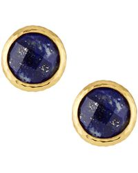 Gurhan - Galapagos Lapis Stud Earrings - Lyst