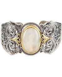 Konstantino - Erato Filigree Cuff Bracelet W/ Labradorite Doublet - Lyst
