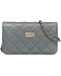 St. John - Quilted Leather Crossbody Bag - Lyst