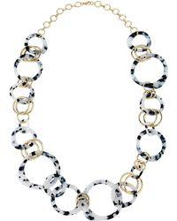 Fragments - Long Multilink Necklace 32l - Lyst