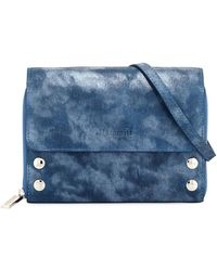Hammitt | Lucas Metallic Suede Crossbody Bag | Lyst