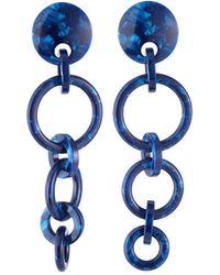Lele Sadoughi - Wind Chime Dangle Earrings Blue - Lyst