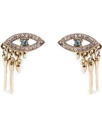 Lulu Frost - Discovery Eye Stud Earrings - Lyst