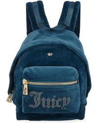 Juicy Couture - New Mini Velour Backpack - Lyst