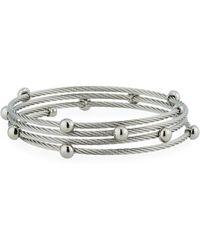 Alor - Cable Coil Wrap Bracelet - Lyst