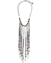 Nakamol Long Mixed Stone & Tassel Necklace KmENGKBZ