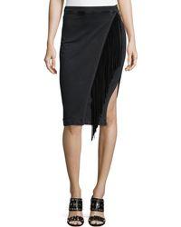 Mcguire   Fringed Slim Skirt   Lyst