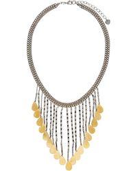 Nakamol - Multi-strand Disc Fringe Necklace - Lyst