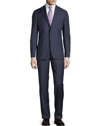 Hickey Freeman - Two-piece Plaid Wool Suit - Lyst