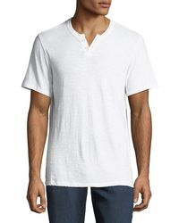 Joe's Jeans - Men's Wintz Short-sleeve Henley T-shirt - Lyst