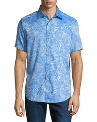 Robert Graham - Men's Classic-fit Fallen Oaks Short-sleeve Sport Shirt - Lyst