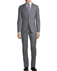 Neiman Marcus - Two-button Sharkskin Two-piece Suit - Lyst