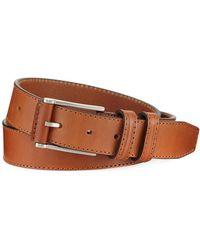 Neiman Marcus - Italian Leather Belt - Lyst