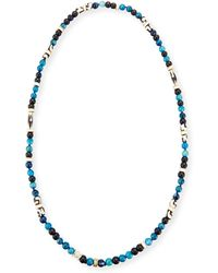 Akola - Long Single-strand Agate Necklace - Lyst