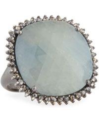 Bavna - Multicolored Sapphire & Diamond Ring - Lyst
