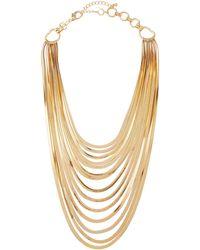 Lydell NYC - Multi-strand Long Bib Necklace - Lyst