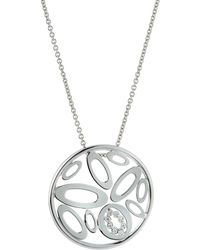 5f102a70284a Roberto Coin - Chic & Shine Pendant Necklace With Diamonds - Lyst