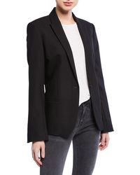 Zadig & Voltaire - Vedy Love Strass One-button Blazer - Lyst