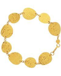 Gurhan - Contour 24k Gold All-around 1-strand Bracelet - Lyst