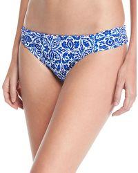 Nanette Lepore - Talavera Mosaic Printed Hipster Bikini Bottoms - Lyst