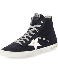 Golden Goose Deluxe Brand - 'francy' Hi-top Sneakers - Lyst