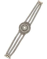 John Hardy - Dotted Three-chain Bracelet - Lyst