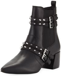 Kendall + Kylie - Rad 4 Studded Booties - Lyst