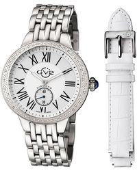 Gv2 - 40mm Astor Bracelet Watch W/ Diamond Bezel & Interchangeable Strap - Lyst