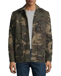 Ovadia And Sons - Camo-print Field Shirt Jacket - Lyst