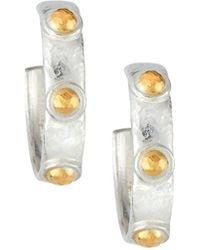 Gurhan - Constellation Small Hoop Earrings - Lyst