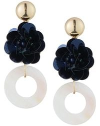 Romeo and Juliet Couture - Flower & Donut Drop Earrings - Lyst