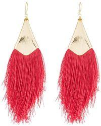 Nakamol - Fringe Drop Earrings - Lyst