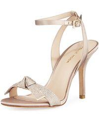 eccd44e3fbd7 Pelle Moda - Kim Jeweled-strap High-heel Sandals - Lyst