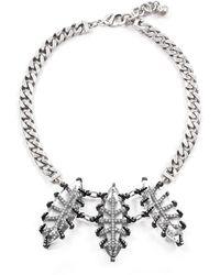 Lulu Frost - Clara Crystal Navette Statement Necklace - Lyst