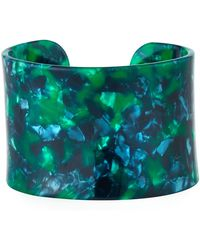 A.V. Max - Acrylic Lucite Cuff In Green - Lyst