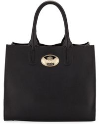 960bbe1346 Lyst - Roberto Cavalli Signature Satchel Bowling Bag in Black